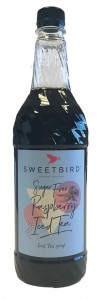 Sweetbird Sugar Free Raspberry Iced Tea Syrup - 1 Litre